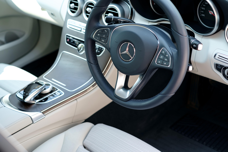 mercedes-car-inside